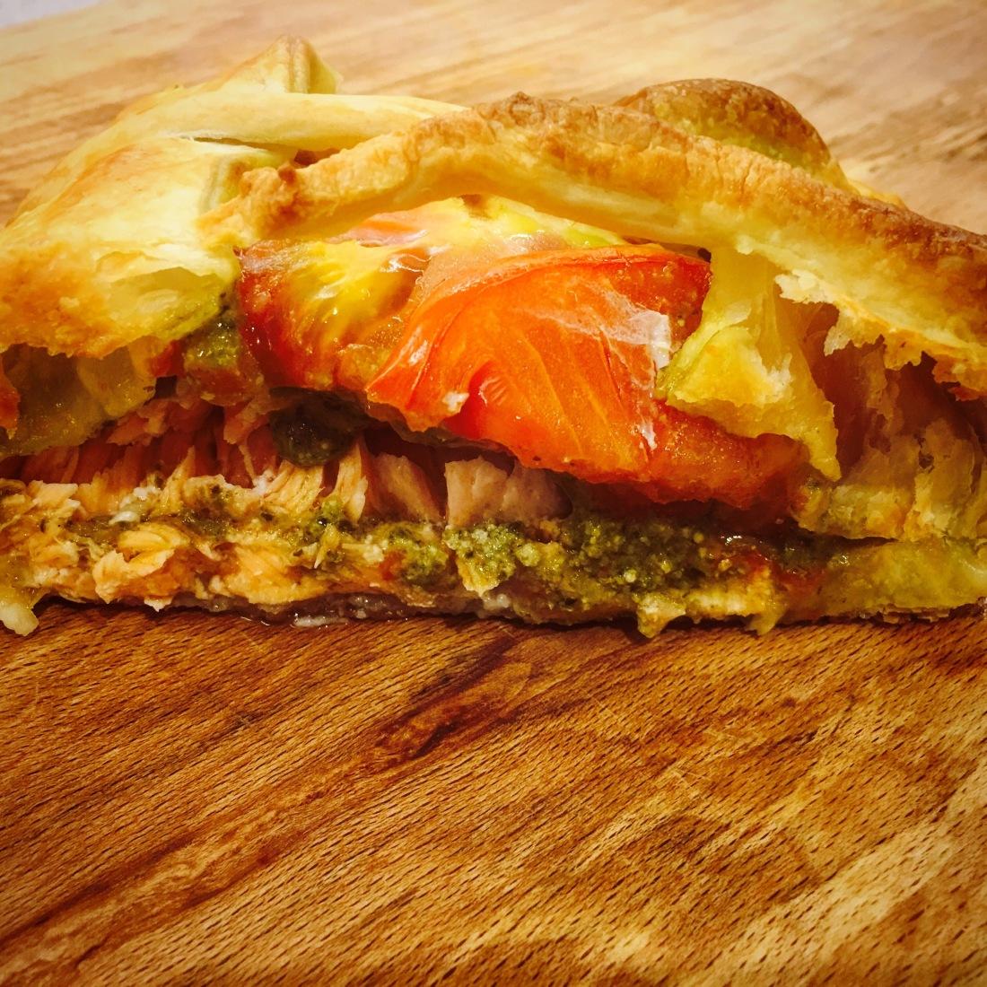 Photo Album Collection How To Cook Salmon En Croute Millions