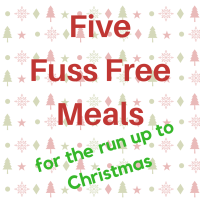 Five EASY meals that will get you out of a spot over the Xmas period! (fool people into thinking you're on it when you are still frantically wrapping on the 23rd!)
