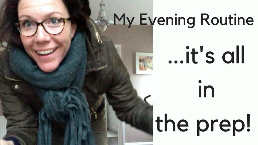 My Evening Routine(weekdays)